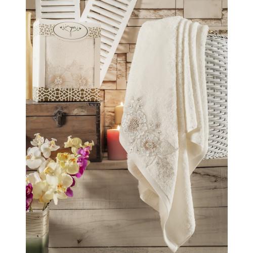 Полотенце Irya Fleur (кремовое)