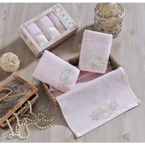 Набор салфеток Irya Fleur (розовое) 30x50 (3 шт.)