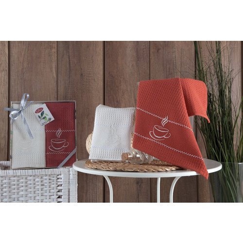 Набор салфеток Karna Tea Time V3 (2 предмета) 40x60