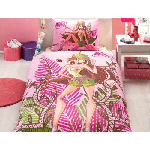 Детское постельное белье TAC Winx Flora Nature Love