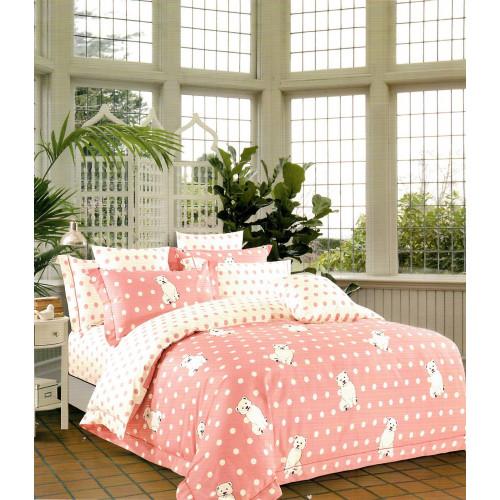 Karna Corin (розовый) детское постельное белье