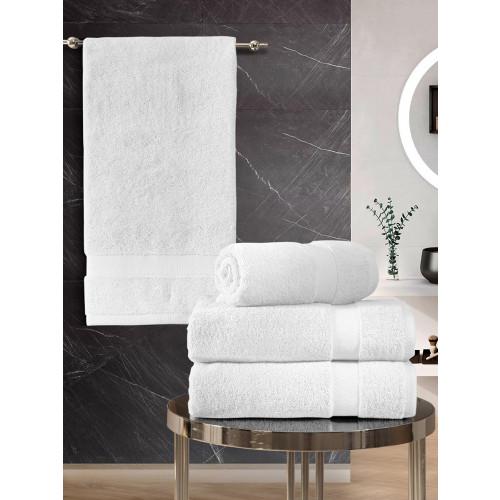 Набор полотенец Karna Arel (белый, 4 предмета)