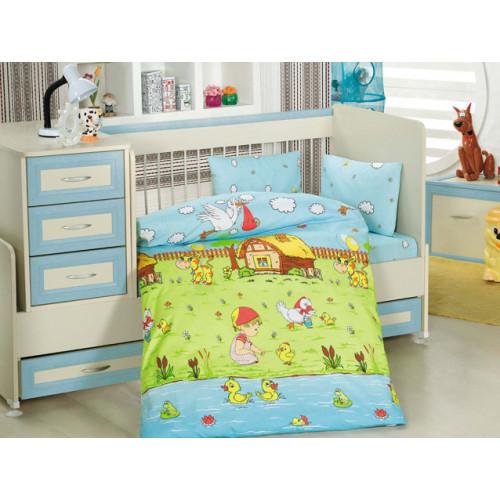 Детское белье в кроватку Altinbasak Dream Garden