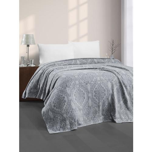 Плед Karna Elenor (серый) 200x220