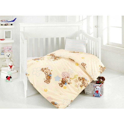 Детское белье в кроватку Altinbasak Yumak (кремовое)