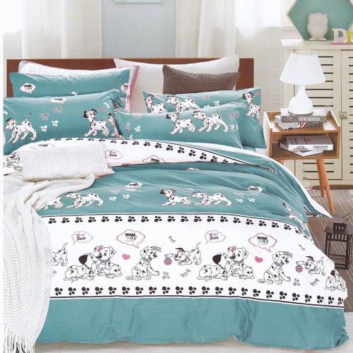 Karna Dalmatian (голубой) детское постельное белье