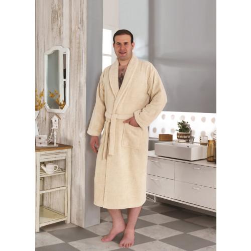 Karna Smart халат махровый (светло-бежевый)