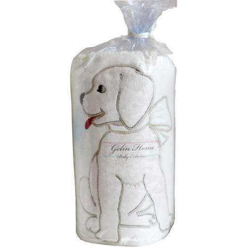 Детский плед Gelin Home Собачка (бежевый) 85x100