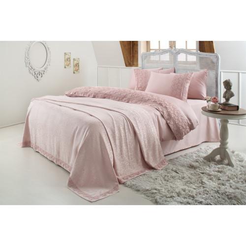 Свадебный набор Gelin Home Esma (розовый) евро