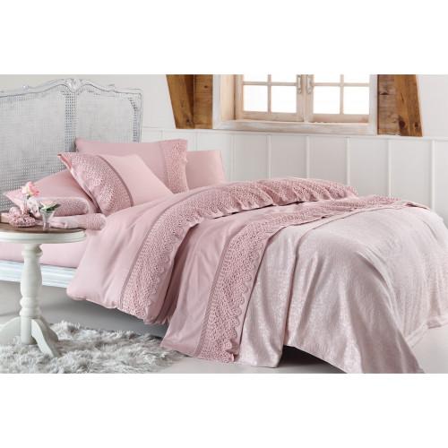 Свадебный набор Gelin Lyon (розовый) евро