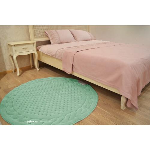 Коврик для ног Gelin Home Erguvan зеленый 120 см. (круглый)