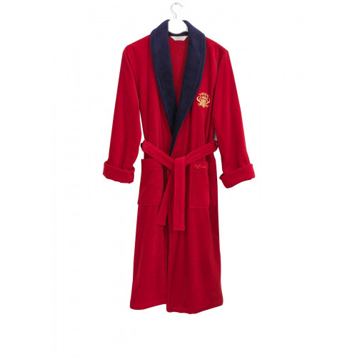 Халат мужской Soft Cotton Snob (красный)