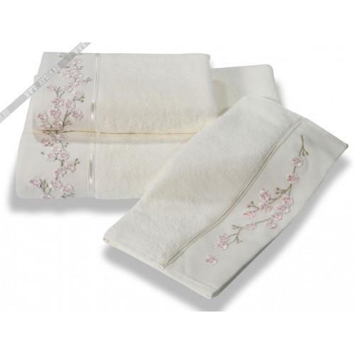 Полотенце Soft Cotton Hayal (кремовое)