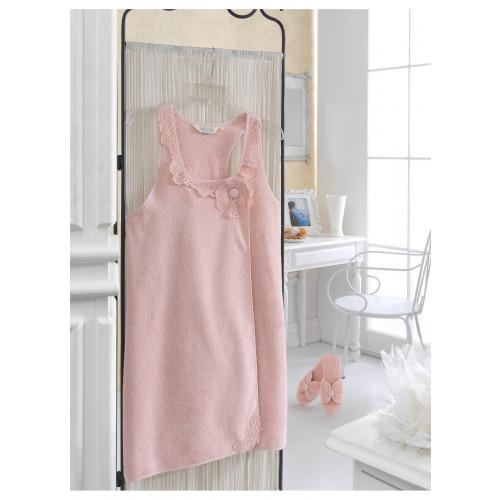 Набор для сауны женский Soft Cotton Iris (розовый)