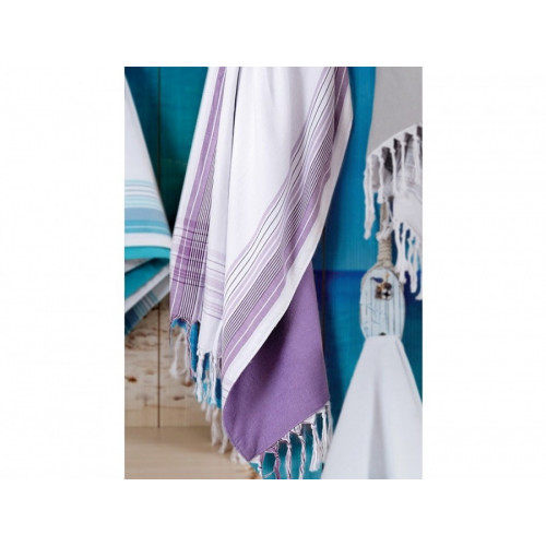 Полотенце Irya Damla (фиолетовое) 100x180