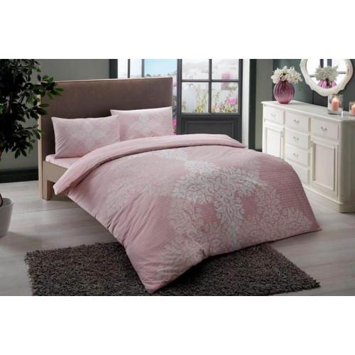 Постельное белье TAC Janna (розовый) евро