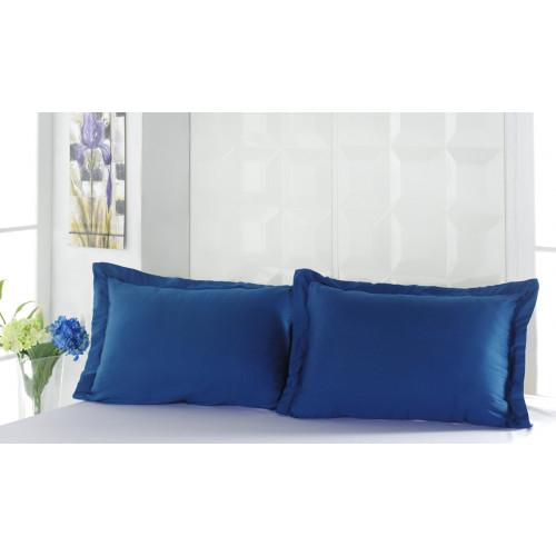 Наволочки Karna Servan (синий) 2 предмета