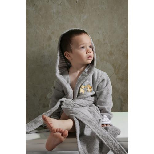 Халатик детский Karna Teeny (серый)
