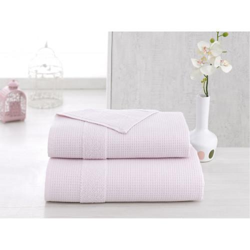 Полотенце Karna Truva (светло-розовое)