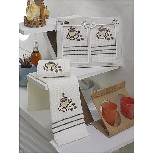 Набор салфеток Karna Votre V1 (2 предмета) 40x60