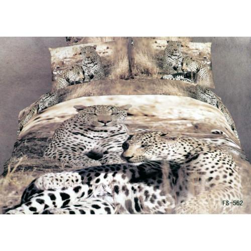 Постельное белье Famille RS-76 Леопарды