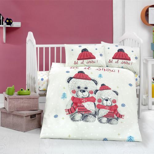 Детское белье в кроватку Arya Home Snow