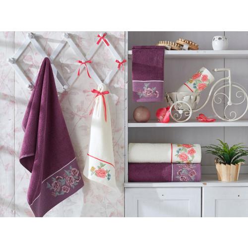 Набор полотенец La Villa Blossom (кремовый) 3 предмета