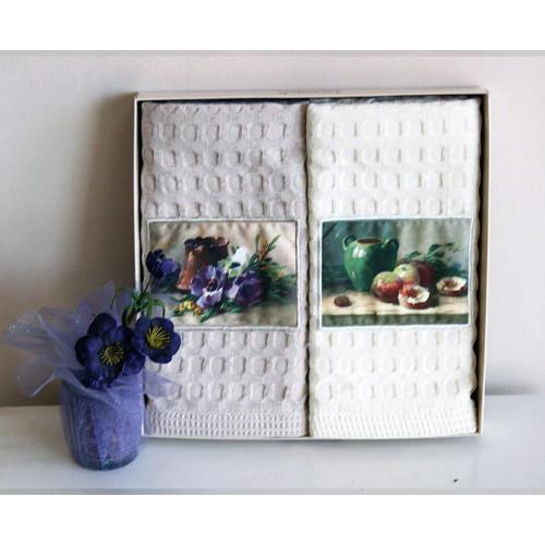 Салфетки La Villa Flower in pot (2 предмета) 50x70