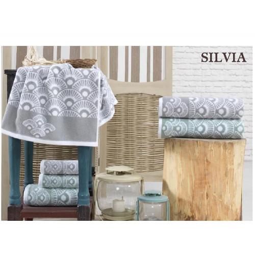 Набор полотенец La Villa Silvia (зеленый) 3 предмета