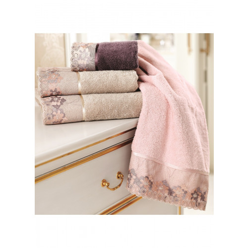 Полотенце Soft Cotton Lalezar (розовое)