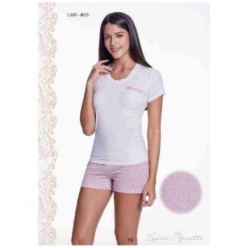 Пижама Luisa Moretti LMS-4053 (розовая)