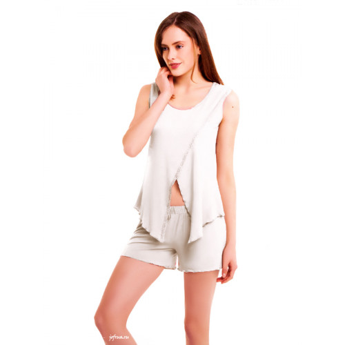 Пижама Luisa Moretti LMS-3029 (кремовая)