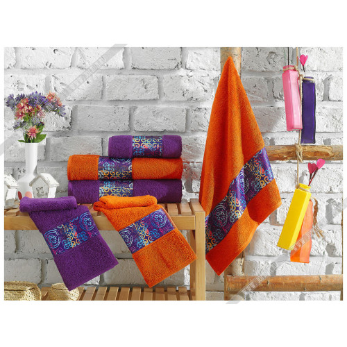 Набор полотенец La Villa Lost (оранжевый)