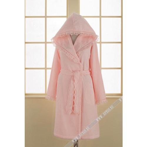 Халат женский Soft Cotton Luna (розовый)