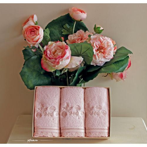 Салфетки Soft Cotton Luna (розовый, 3 предмета) 32x50