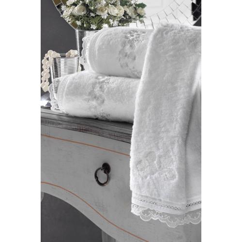 Полотенце Soft Сotton Luna (белое)