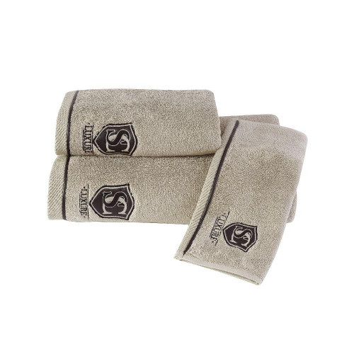 Полотенце Soft Cotton Luxure (бежевое)