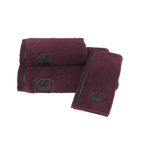 Полотенце Soft Cotton Luxure (бордовое)