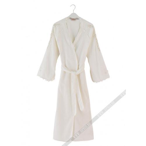 Халат женский Soft Cotton Masal (кремовый)