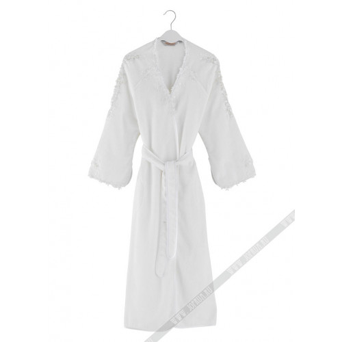 Халат женский Soft Cotton Masal (белый)
