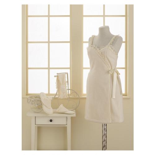 Набор для сауны женский Soft Cotton Luna (кремовый)