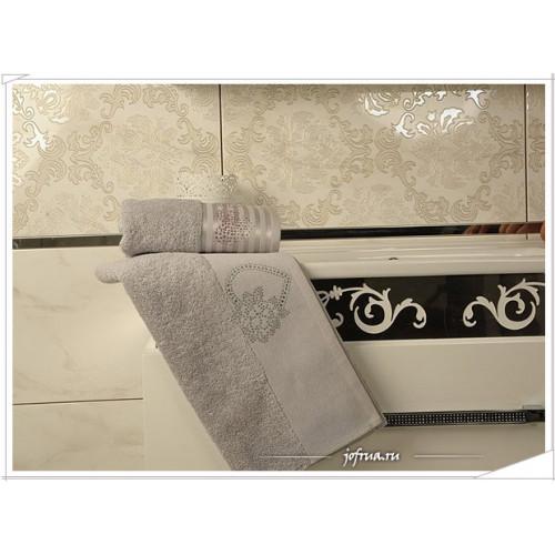 Набор полотенец Arya Kalpli серый (2 предмета)