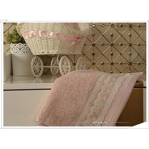 Набор полотенец Arya Sarmasik розовый (2 предмета)