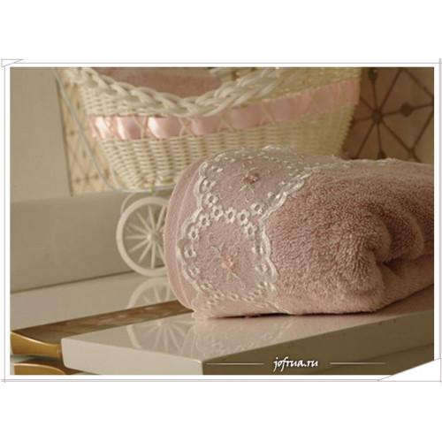 Набор полотенец Arya Yurvalak розовый (2 предмета)