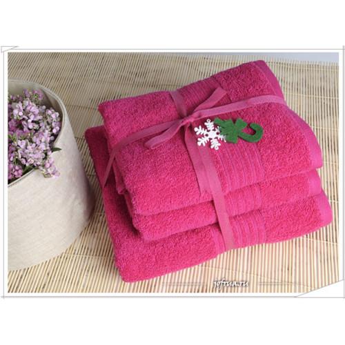 Набор полотенец Irya Shalla (фуксия)