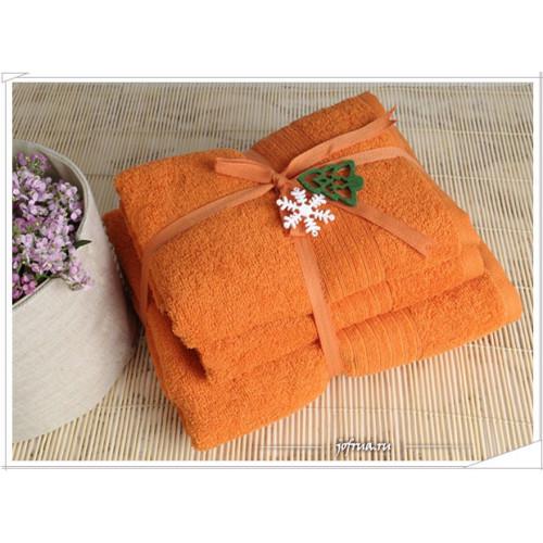 Набор полотенец Irya Shalla (оранжевый)