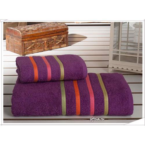 Набор полотенец Karna Bale Neon (фиолетовый, 2 предмета)