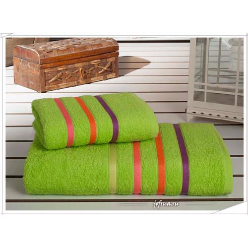 Набор полотенец Karna Bale Neon (зеленый, 2 предмета)