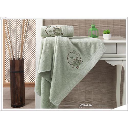 Набор полотенец Karna Demet (зеленый, 2 предмета)
