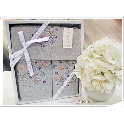 Набор полотенец La Villa Fragrance серый (3 предмета)